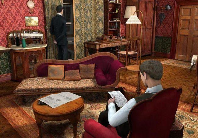 Sherlock Holmes: Das Geheimnis des Silbernen Ohrrings - Screenshots - Bild 5