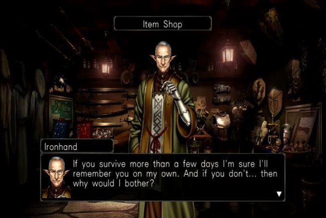 Wizardry: Labyrinth of Lost Souls - Screenshots - Bild 4