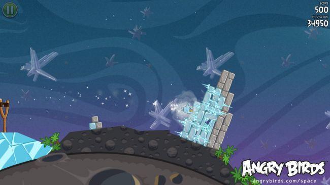 Angry Birds Space - Screenshots - Bild 5
