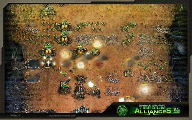 Command & Conquer: Tiberium Alliances - Screenshots - Bild 1