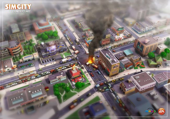 SimCity - Artworks - Bild 2