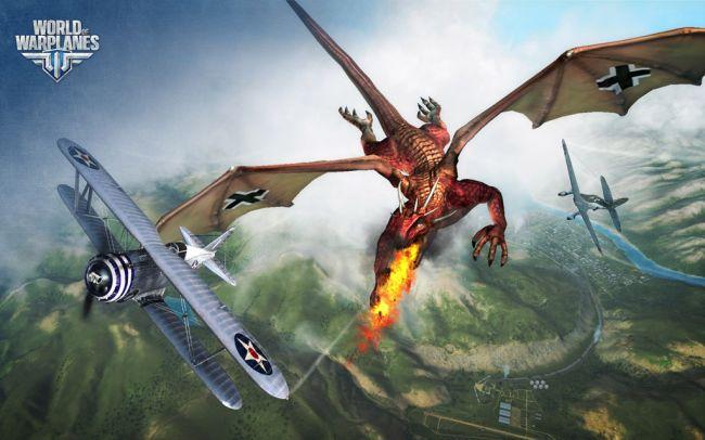 World of Warplanes Aprilscherz: Drachen - Screenshots - Bild 3