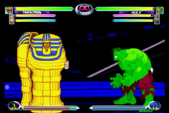 Marvel vs. Capcom 2 - Screenshots - Bild 2