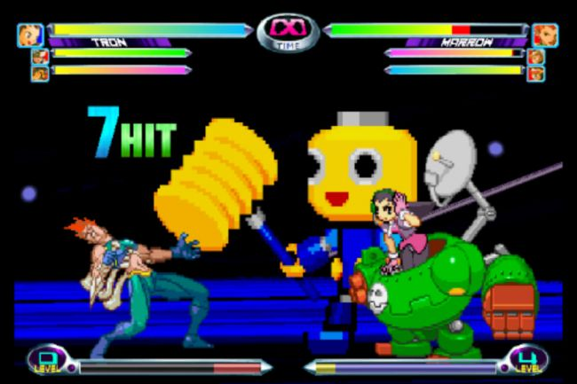 Marvel vs. Capcom 2 - Screenshots - Bild 1