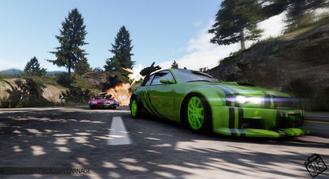 Gas Guzzlers: Combat Carnage - Screenshots - Bild 5