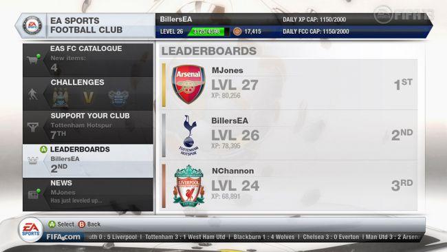 FIFA 13 EA Sports Football Club - Screenshots - Bild 2