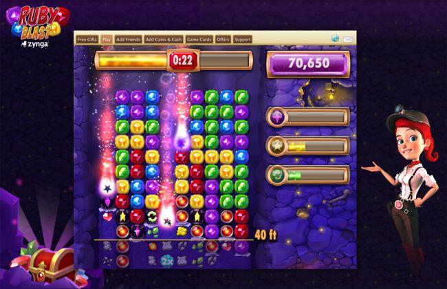 Ruby Blast - Screenshots - Bild 2