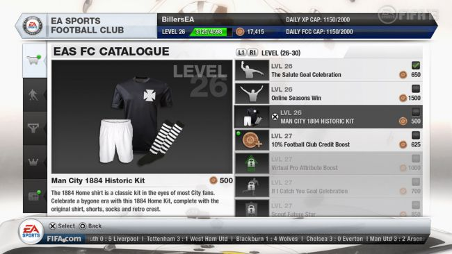 FIFA 13 EA Sports Football Club - Screenshots - Bild 13