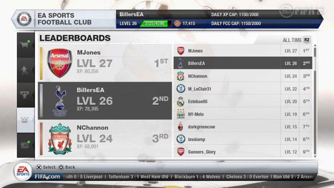 FIFA 13 EA Sports Football Club - Screenshots - Bild 12