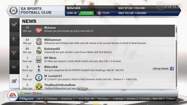 FIFA 13 EA Sports Football Club - Screenshots - Bild 3