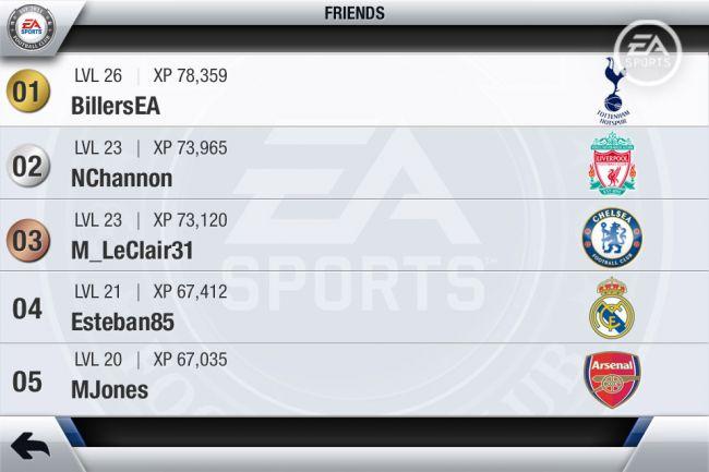 FIFA 13 EA Sports Football Club - Screenshots - Bild 6