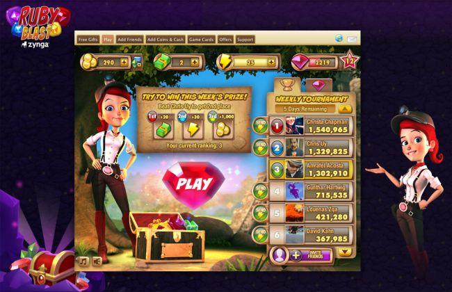 Ruby Blast - Screenshots - Bild 1