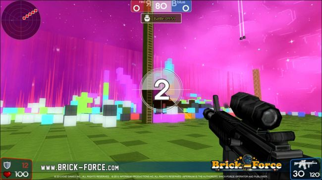 Brick-Force - Screenshots - Bild 1