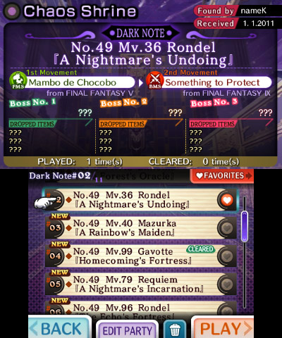 Theatrhythm: Final Fantasy - Screenshots - (3DS)