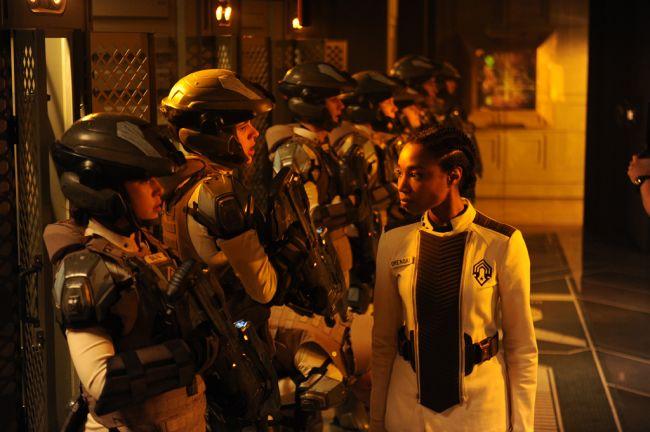 Halo 4: Forward Unto Dawn Set-Fotos - Artworks - Bild 1