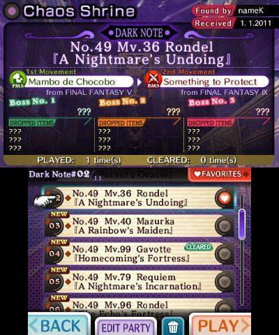 Theatrhythm: Final Fantasy - Screenshots - Bild 1