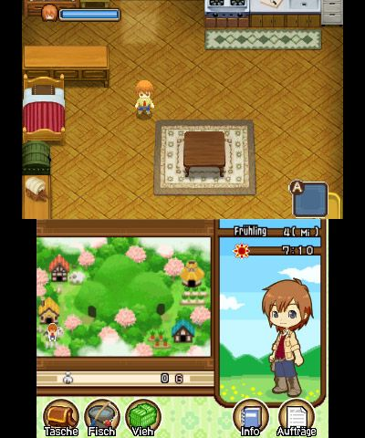 Harvest Moon: The Tale of Two Towns - Screenshots - Bild 1