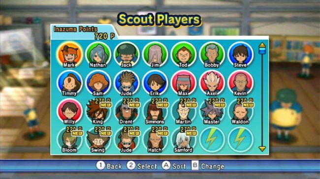 Inazuma Eleven Strikers - Screenshots - Bild 1