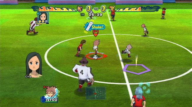Inazuma Eleven Strikers - Screenshots - Bild 4
