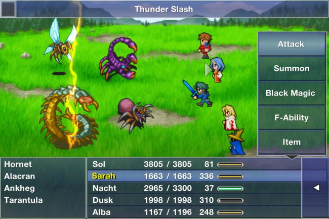 Final Fantasy Dimensions - Screenshots - Bild 3
