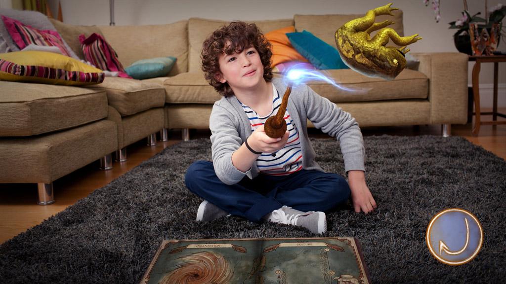 wonderbook: das buch der zaubersprüche: zauberhaftes pappbüchlein