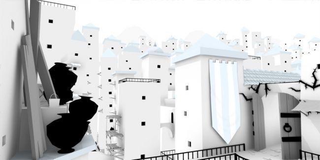 The Unfinished Swan - Screenshots - Bild 5