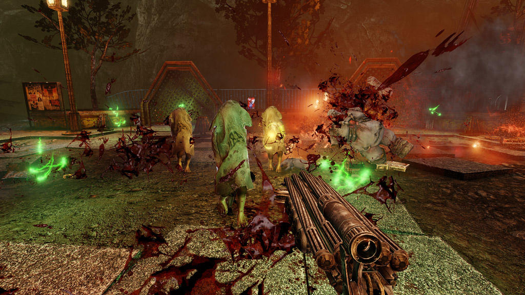 The uncut version of painkiller: hell and damnation comes out for the pc on october 31