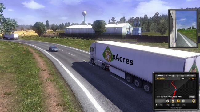 euro truck simulator 2 neuer dlc f hrt nach italien. Black Bedroom Furniture Sets. Home Design Ideas