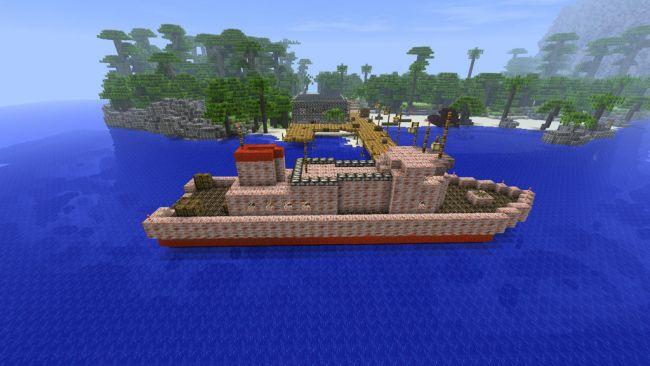 Minecraft Far Cry 3 Map- und Texturenpaket - Screenshots - Bild 1