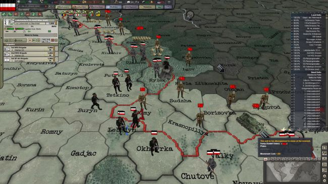 Hearts of Iron III: Their Finest Hour - Screenshots - Bild 9