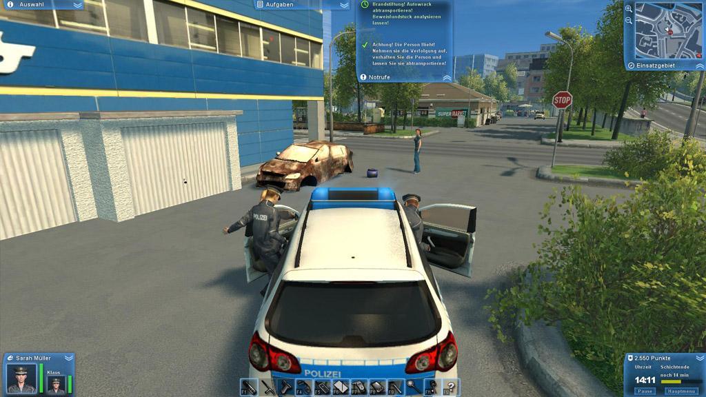 Polizei 2013 – Die Simulation
