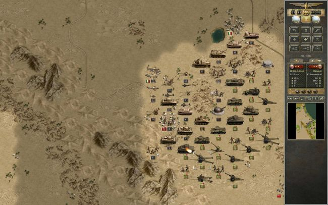 Panzer Corps: Afrika Korps - Screenshots - Bild 1
