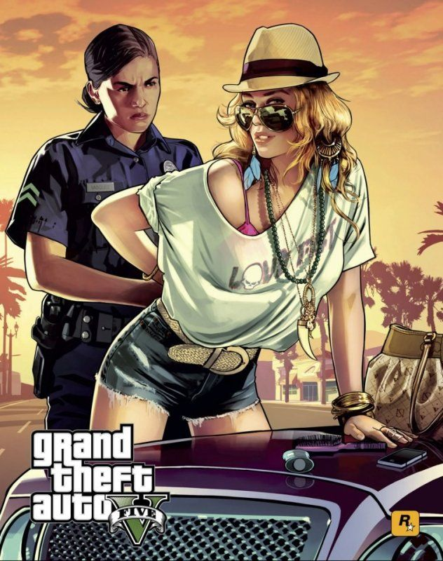 Grand Theft Auto V - Artworks - Bild 2