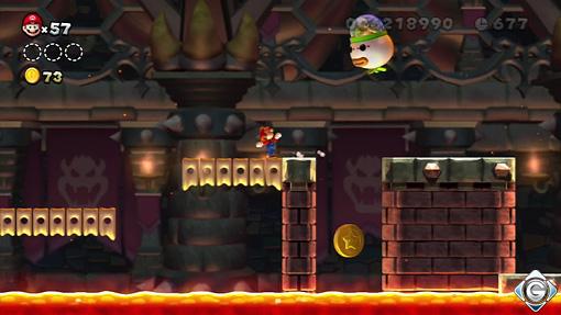 New Super Mario Bros U Schnappt Sie Euch Alle Schloss 2 Die