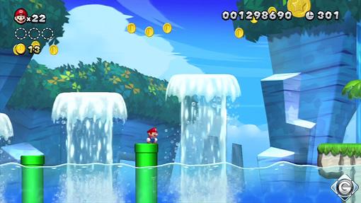 New Super Mario Bros U Schnappt Sie Euch Alle 1 Strand Der