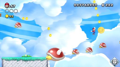 New Super Mario Bros U Schnappt Sie Euch Alle Bonus Parakäfer