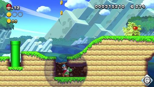 New Super Mario Bros U Schnappt Sie Euch Alle 3 Yoshi Hügel