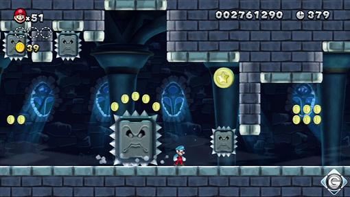 New Super Mario Bros. U: Schnappt sie euch alle! - Schloss: Wendys ...