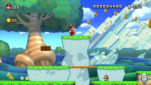 New Super Mario Bros U Schnappt Sie Euch Alle 1 Ouvertüre Im