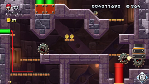 New Super Mario Bros. U: Schnappt sie euch alle! - Turm ...