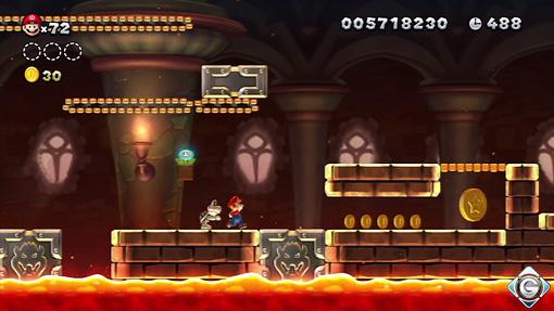 New Super Mario Bros U Schnappt Sie Euch Alle Schloss Roys