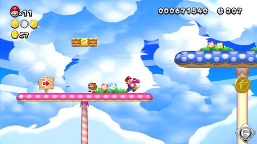 New Super Mario Bros U Schnappt Sie Euch Alle 4 Pilz Parcours