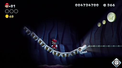 New Super Mario Bros U Schnappt Sie Euch Alle 6 Knochenbahn Im