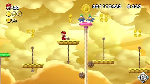 New Super Mario Bros U Schnappt Sie Euch Alle 5 Stein Spike