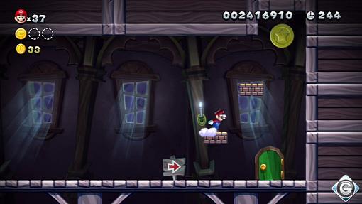 New Super Mario Bros U Schnappt Sie Euch Alle Geisterhaus P