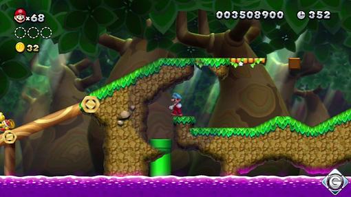 New Super Mario Bros U Schnappt Sie Euch Alle 6 Es Geht Zur