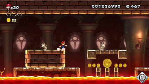 New Super Mario Bros U Schnappt Sie Euch Alle Schloss Mortons
