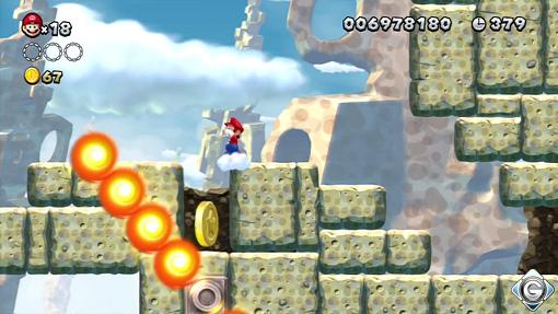 New Super Mario Bros U Schnappt Sie Euch Alle 6 Brennende