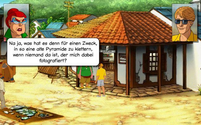 Baphomets Fluch 2: Die Spiegel der Finsternis - Remastered - Screenshots - Bild 5