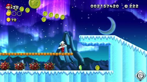 New Super Mario Bros U Schnappt Sie Euch Alle 3 Gletscher Der